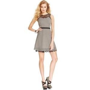 Guess Striped Lace Dress